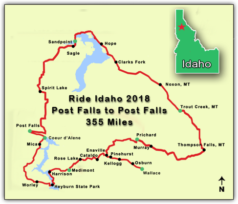 2018 route map