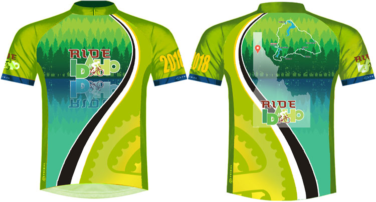 Ride Idaho 2018 Jersey