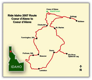 2007 route map