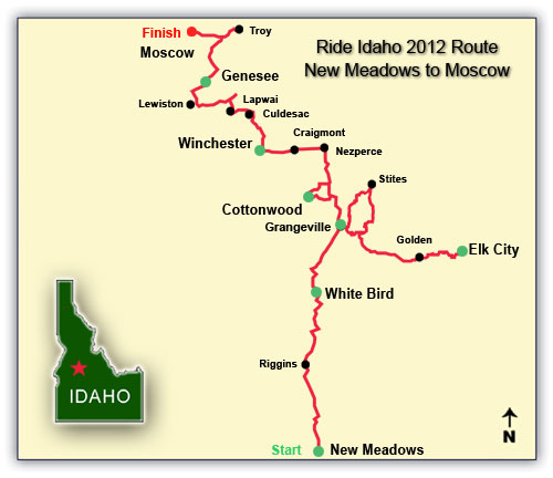 2012 route map